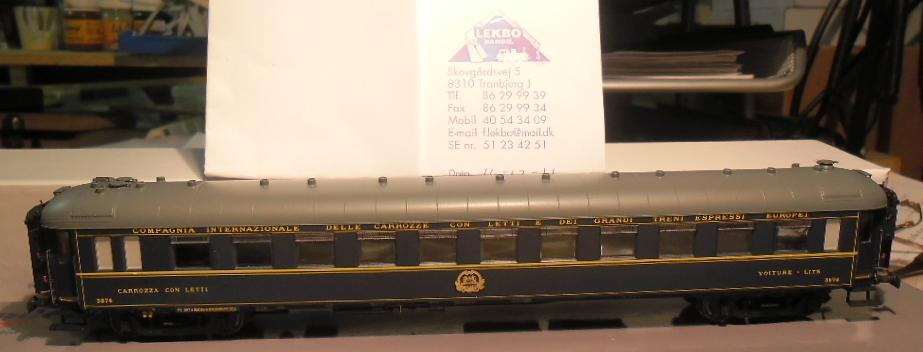 CIWL WL sovevogn type Yb fra LS models - Sporskiftet