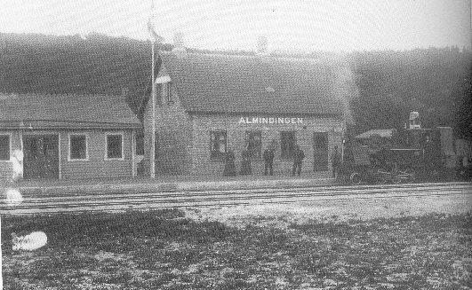 Almindingen station 1901