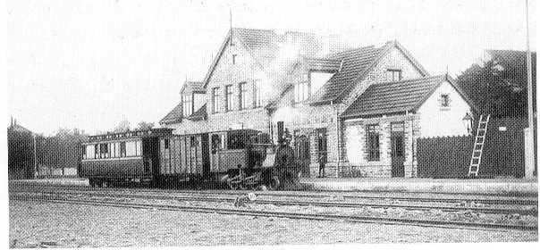 Nexø Station 1900