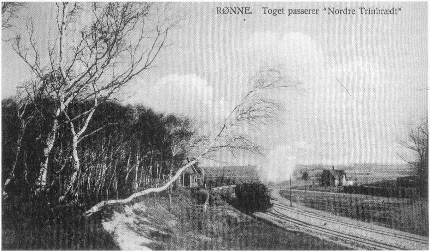 Rønne N 1900 postkort