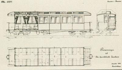 1900 første tyske vogne