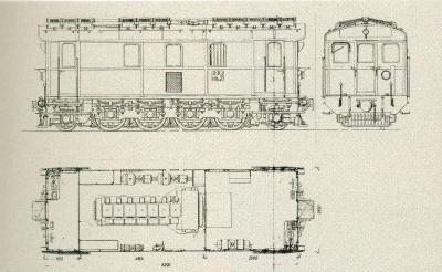 Diesel lokomotiv ML7 Frichs