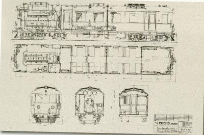 Diesel motorvogn M4-5 Frichs