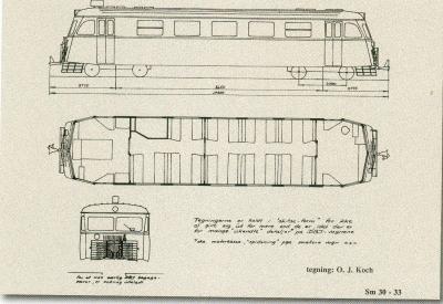 Sm 30-31 Skinnebus motorvogn