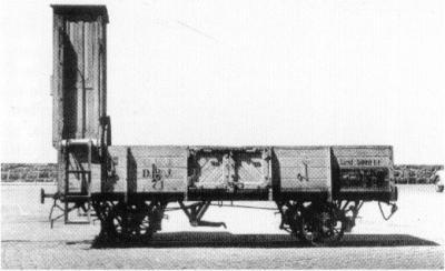 godsvog åben brems kupe