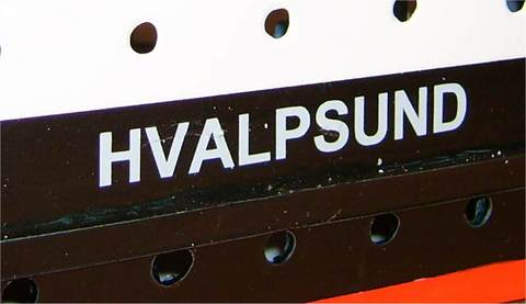 hvalpsund - decal