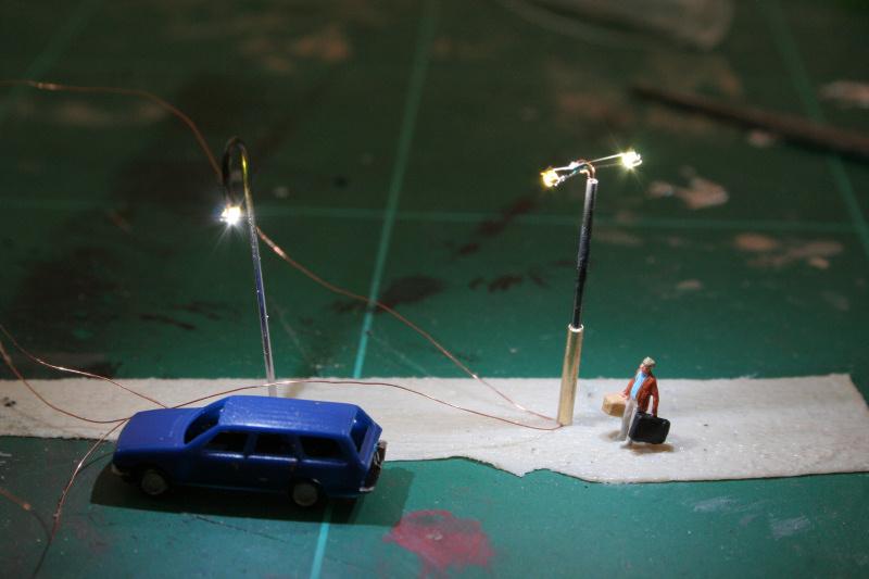 Små lamper (spor z)   sporskiftet